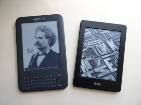 Kindle Keyboard and Paperwhite